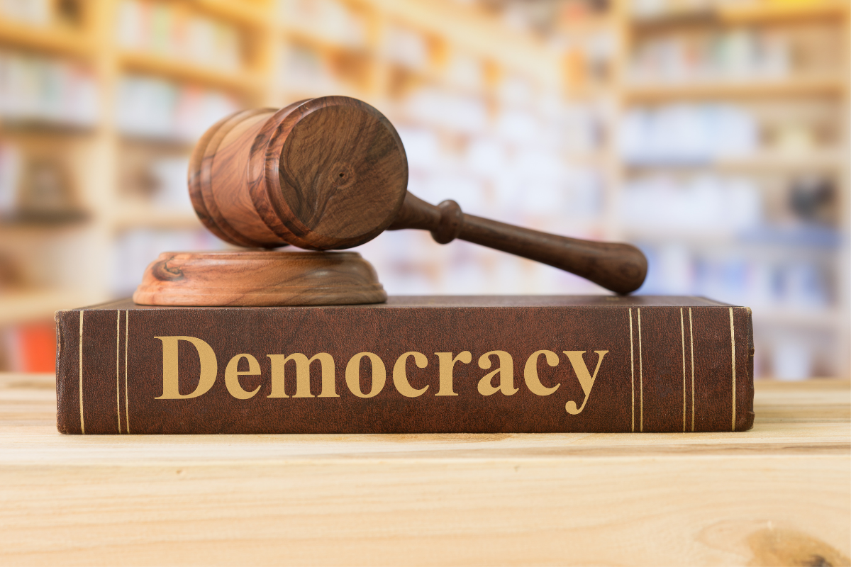 Democracy May Be fragile